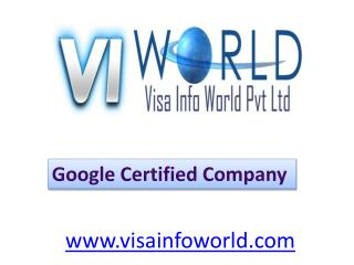 ORM online solutions at lowest price noida-visainfoworld.com