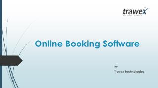 Online Booking Software