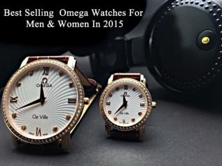 Best Selling  Omega Watches For Men & Women In 2015
