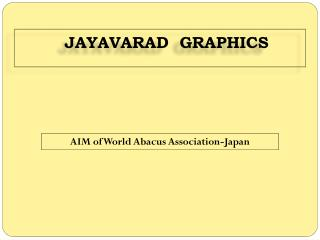 AIM of World Abacus Association-Japan