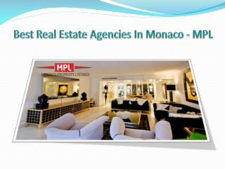 Best Real Estate Agencies In Monaco - MPL