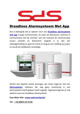 Draadloos Alarmsysteem Met App