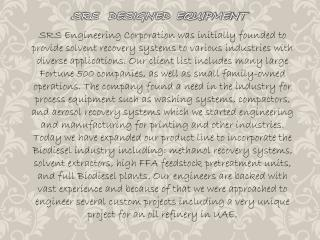 solvent recycling