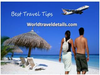 Best travelling tips
