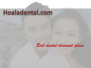 discount dental insurance