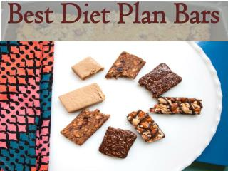 Best Diet Plan Bars