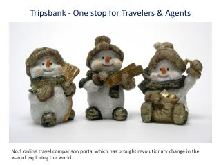 One stop Travel and Agents solution - Tripsbank
