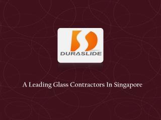 Glass Contractors Singapore