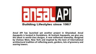 Ansal Aquapolis NH 24