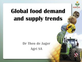 Global food demand and supply trends