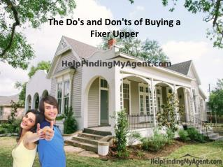 The Do's and Don'ts of Buying a Fixer Upper
