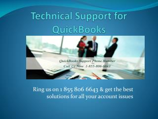 1 855 806 6643 QuickBooks Help desk support phone number