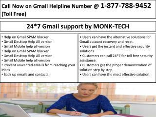 Gmail Phone Number1-877-788-9452 Tech Help Services