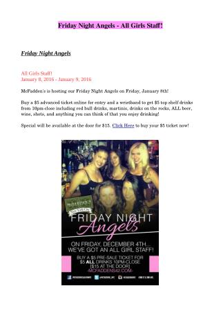 Friday Night Angels