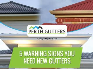 Warning Signs - When You Need to Call Gutter Replacement Perth