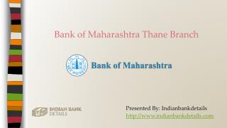 Bank of Maharashtra Thane Branches