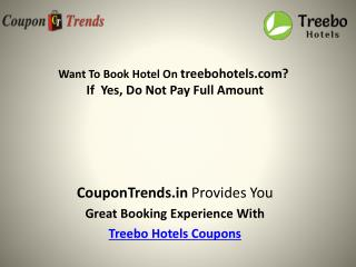 treebo hotels Coupons: Discount Coupon, Promo Codes, Deals & Offers