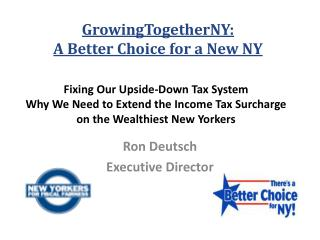 Fixing Our Upside-Down Tax System Why We Need to Extend the Income Tax Surcharge on the Wealthiest New Yorkers