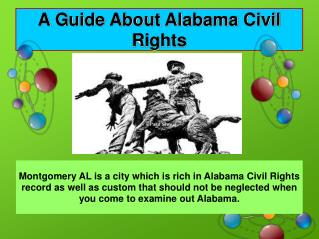 Take A Look On Alabama Civil Rights History