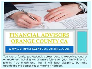 Financial Planner Irvine