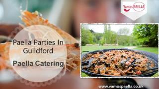 Paella parties in Guildford