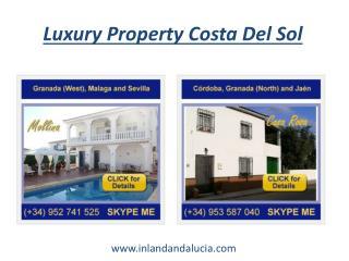 Luxury Property Costa Del Sol
