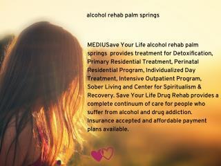 drug detox palm springs