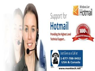 Hotmail support number 1-877-788-9452 tollfree to get email support