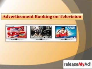 Ad Booking on TV Channels