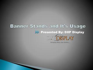 Banner Stand Perfect for Event Exhibitions