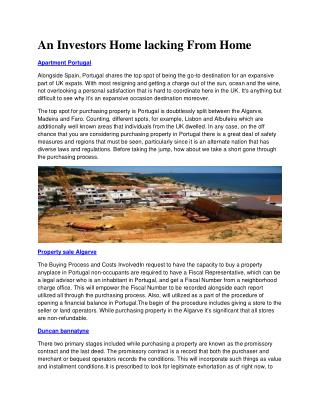 Ideal Homes International - Property For Sale Algarve Portugal - property sale portugal - Ideal Homes International | Pr