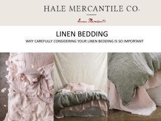 Pure Linen Bedding