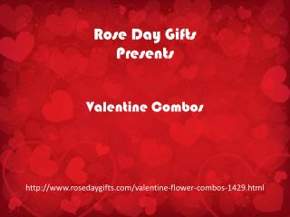 Exquisite Valentine Flower Combos to Confess Love to Sweetheart @ rosedaygifts.com