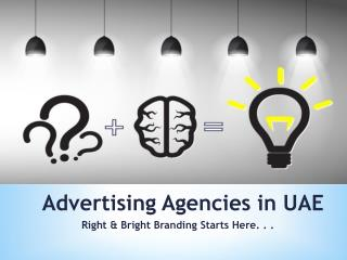 Advertising Agencies in UAE
