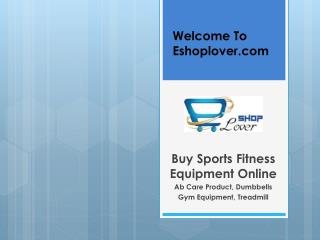 Buy Sports & Fitness Equipment Online India