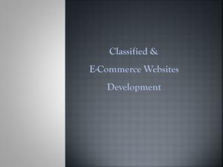 Real Estate Web portal Development