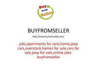 A Few Easy Steps To Find Apartments For Rent -Buyfromseller