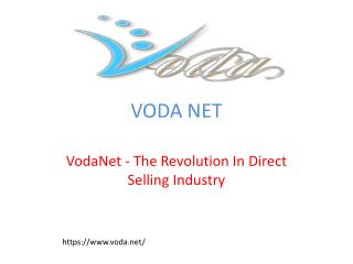 VodaNet - The Revolution In Direct Selling Industry
