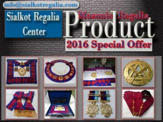 Royal Arch Grand collar jewels
