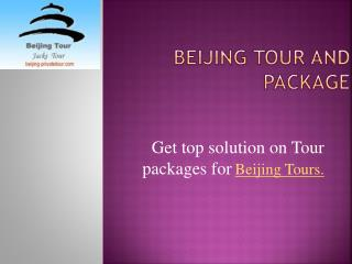 Beijing Tours and Packages