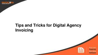Digital Agency Invoicing – Tips and Tricks for 2016