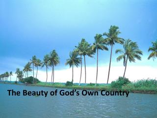The Beauty of God's Own Country - Thomas Cook