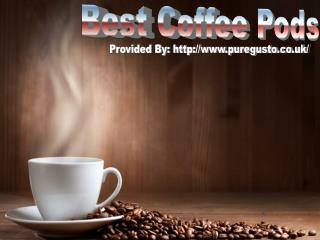 Best Coffee Pods: Know The Health Benefits from It