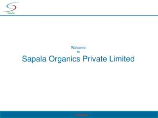 Welcome to Sapala Organics Private Limited
