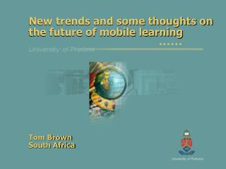 New trends and some thoughts on the future of mobile learning