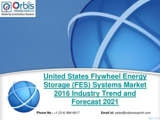 World Flywheel Energy Storage (FES) Systems Market - Opportunities and Forecasts, 2016 -2021