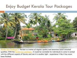 Enjoy Budget Kerala Tour Packages