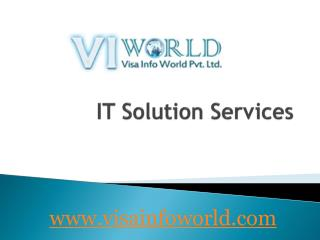 All IT solutions(9899756694) at lowest price noida-visainfoworld.com