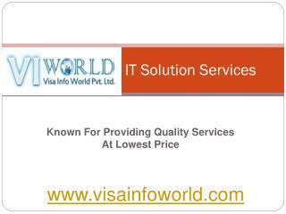 Website designing company (9899756694) in Noida India-visainfoworld.com