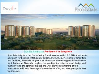 Duville Riverdale | Residential Project | location | Pune | Kharadi
